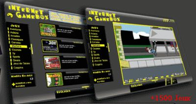 internet gamebox gratuit