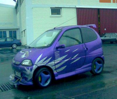 voiture sans permis customisee