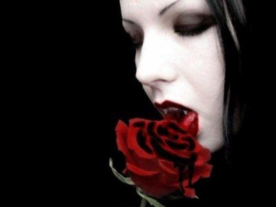Le baiser d'un vampire