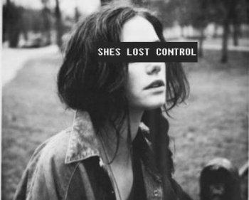 Perdre le contrôle de sois-même.