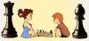 Rose et Hugo :rois des échecs