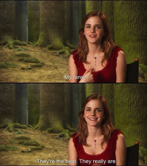 We love you Emma ^^