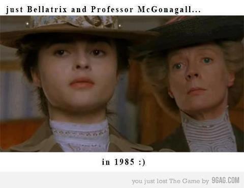 Helena avait déjà tourné avec Maggie Smith alias mc Gonagall dans les années 80