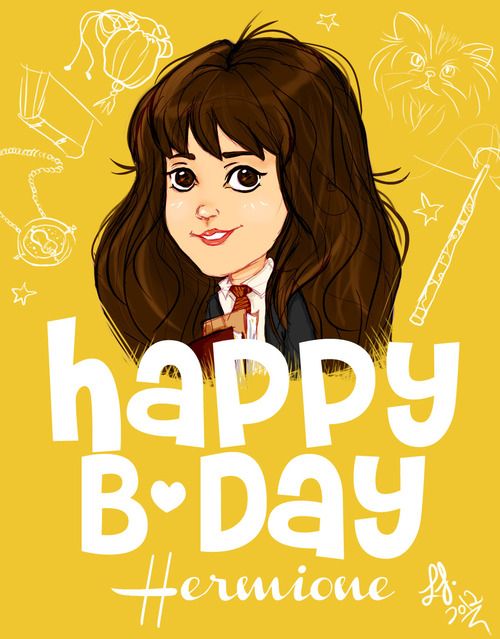 Happy birthday Hermione :D