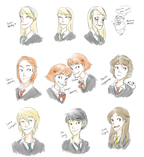 Harriette Potter au lieu de Harry ? : imaginons les têtes des personnages de la saga si Harry avait été une fille