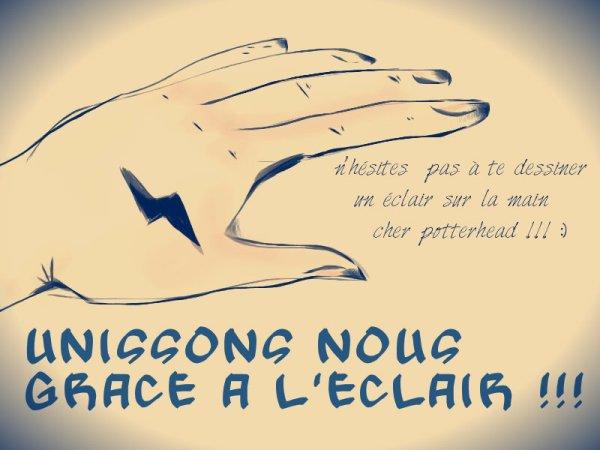 Unissons nous grâce à l'Eclair ! ;)