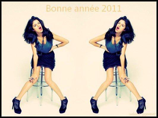 La WebMiss Camille , de Selena-GGomez vous souhaite une Exellente Années 2011 !