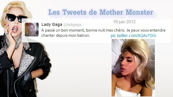 Les Tweets de Mother Monster
