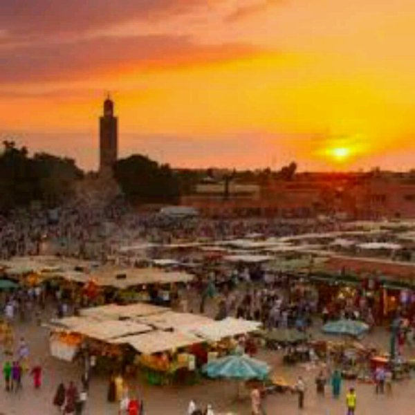 Marrakech, mixture between traditional and modern