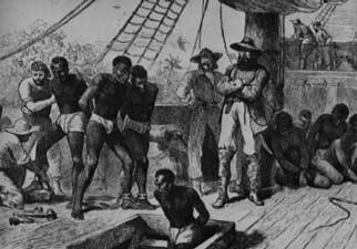 La traite, l'Afrique et la question de l'esclavage au XVIIIe siècle.