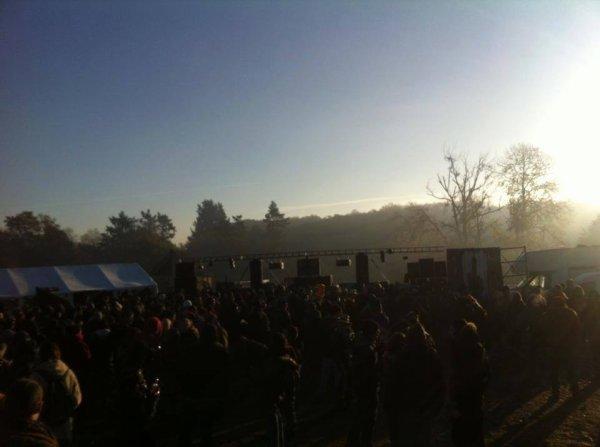 Marmotek - Ameson - Arytmetek pour le Teknival, près de Rennes 15 000 personnes <3