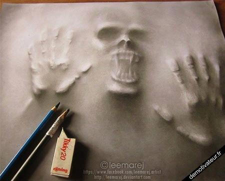 dessin incroyable