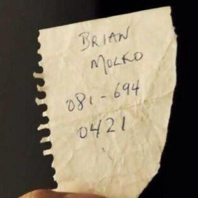 Ancien numéro de tél fixe de Brian