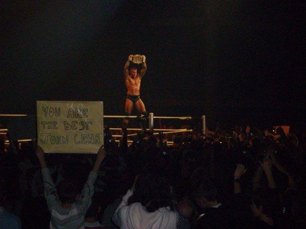 wwe raw tour a Nantes en novembre