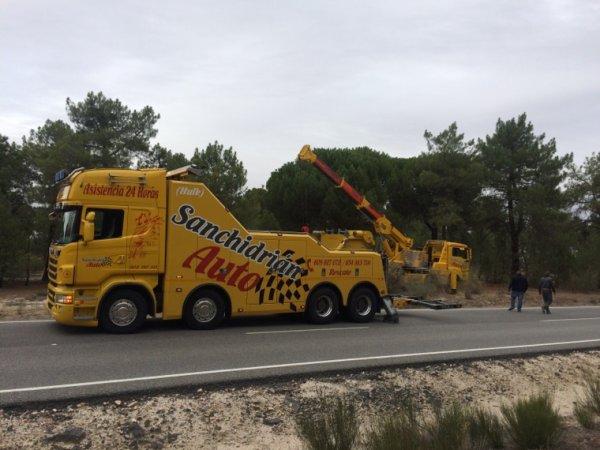 Rescate y traslado a Zamora.