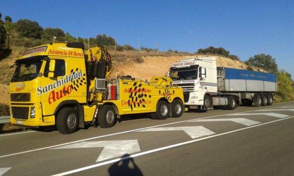 Asistencia a camiones.