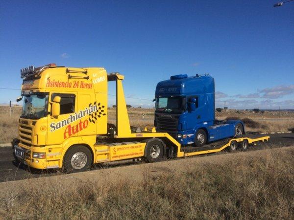 Traslados de camiones y remolcajes