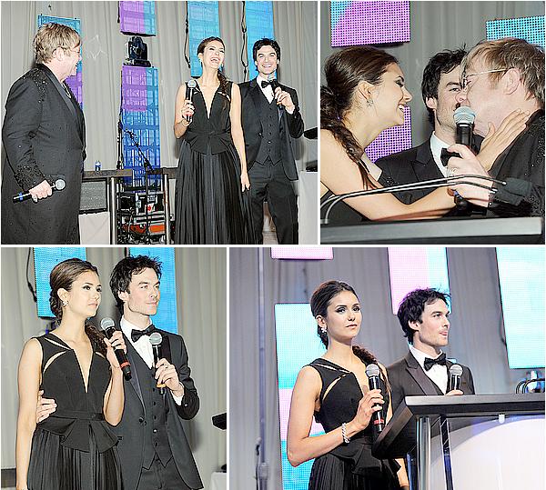 26/02/12 -Nina était à la 20ème édition de l'after-party des Oscars organisé par Elton John. Je suis en adoration devant ces photos, la robe et la coiffure de Nina sont si parfaites. Elle est resplendissante, un gros top.