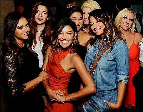 16/09/14 - Nina est allée à l'after-party de l'avant-première du nouveau film « Two Night Stand ».  Nina a porté deux belles robes noires pendant la soirée. Elle était à l'after party pour supporter sa très bonne amie Jessica.