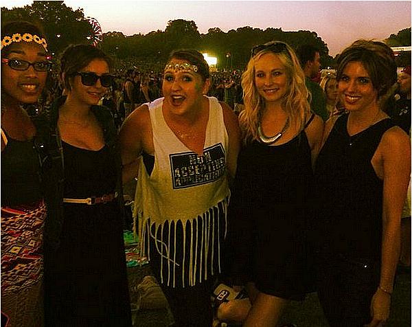 Nina est allée au festival de musique « Music Midtown » à Atlanta ce 19 septembre 2014.