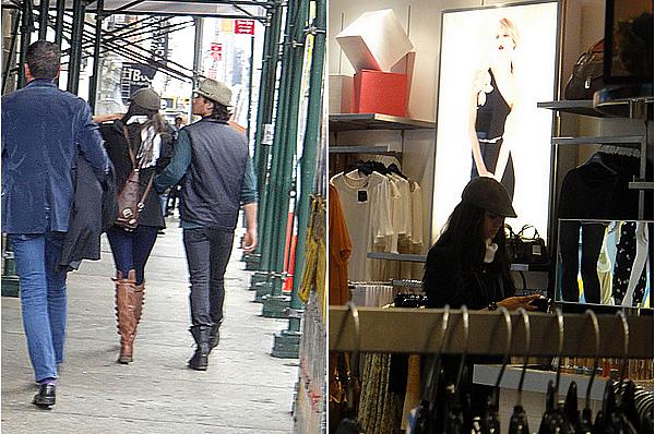 17/05/11 -Nina et Ian Somerhalder sont allés à une soirée organisée par InStyle, à New York. Tenue très simple mais je trouve que les robes noires n'ont pas besoin de grand chose pour être chics donc magnifique.