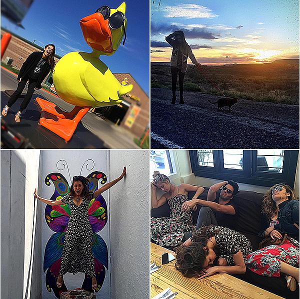 Nina et ses amis ont continué leur road trip jusqu'à Los Angeles du 12 mai au 19 mai 2015. Ils sont repartis d'Amarillo au Texas, ils ont ensuite enchaîné les villes, ils sont allés à Santa Fe, à Phoenix et à Sedona en Arizona. Ils ont également visité le Grand Canyon avant de passer un peu de temps à Las Vegas et de reprendre la route jusqu'à Los Angeles.