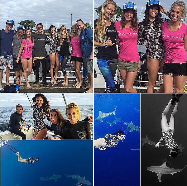 Nina et ses amis sont allés finir l'année 2015 à Hawaii du 29 décembre au 3 janvier 2016.