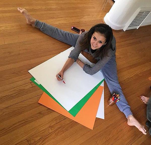 Mary Miller a posté une photo de Nina passant un dimanche tranquille ce 17 janvier 2016.