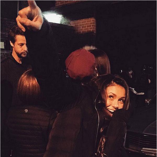 Nina, Jessica et Keleigh étaient chez Seth MacFarlane à Los Angeles ce 12 décembre 2015.