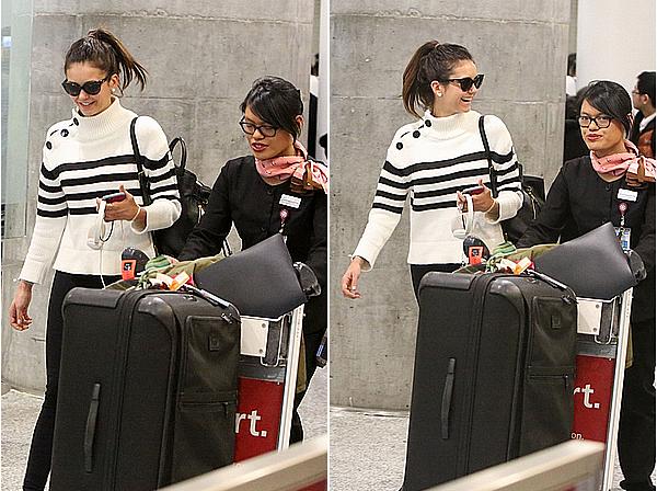 19/02/16 - Nina a été aperçue arrivant à l'aéroport de Toronto, dans son pays d'enfance au Canada.  Nina est à Toronto pour commencer le tournage de son film : xXx: The Return of Xander Cage, avec entre autres Vin Diesel.