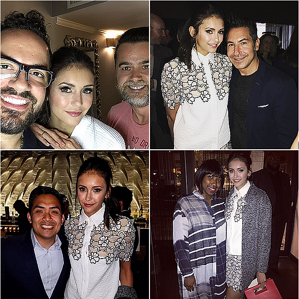 29/04/16 - Nina était à l'évènement « Creative Coalition Night Before Benefit Celebrating Arts ».  Nina est en ce moment à Washington DC pour faire un peu de politique et récolter des fonds pour le financement des arts.