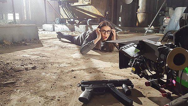 Nina était sur le tournage de son film XXX3: The Return of Xander Cage ce 27 avril 2016.