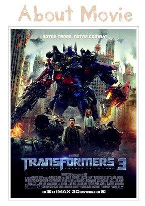 LA SORTIE DE LA SEMAINE Transformers 3