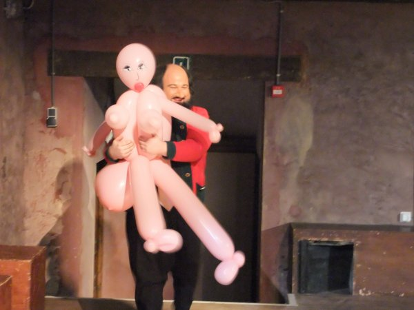 Mannequin pour spectacle