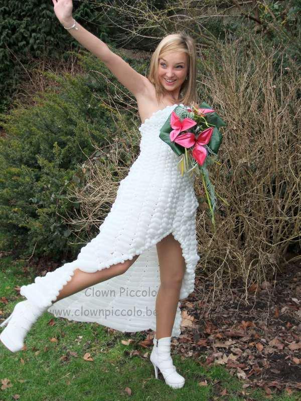 Une robe de mariée
