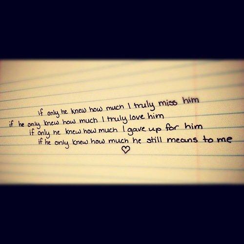 Cualquiera que haya amado..tiene una cicatriz sólo que a veces se le olvida.