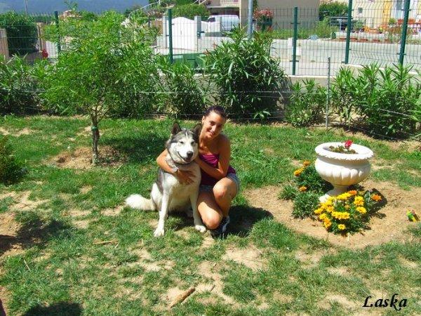 Laska et sa maîtresse