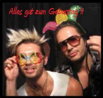 •Alles gut zum Geburstag Bill und Tom ♥!•