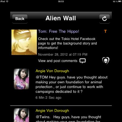 • BTK app- Tom Kaulitz•