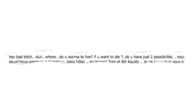 """""""DSDS""""-LAURA IN ANGST!Morddrohungen gegen """"Tokio-Hotel""""- Liebling - """"DSDS""""- Laura dans la peur! Venue de menaces de mort pour la chouchoute des """"Tokio Hotel"""""""