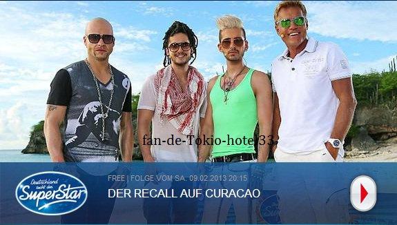 Recall a Curaçao -09 février 2013-