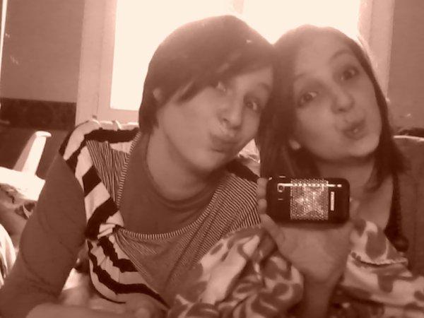 ma soeur et moiii !!!