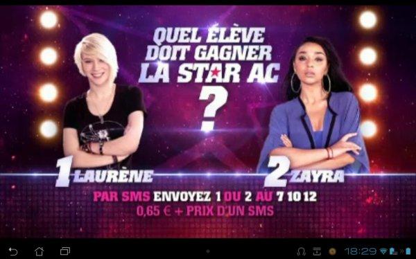 Laurène VS Zayra: la FINALE!