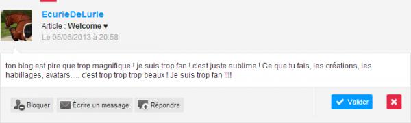 🐳 Des adorables commentaires... ♥ 🐳