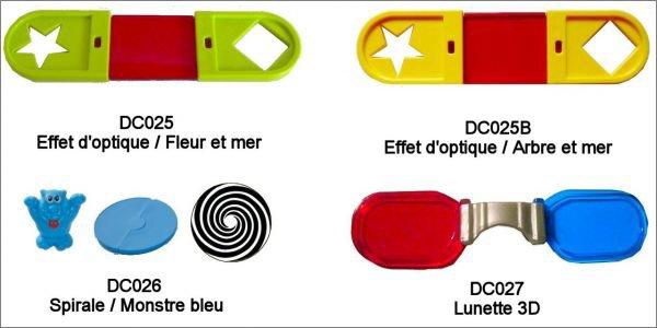 Effets D'optique - DC025 à DC027 - 2011-2012