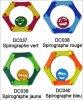 Spirographe DC037 à DC040 - 2011-2012