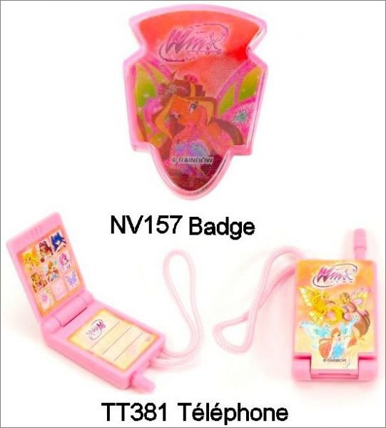 Winx NV123 à NV128 + Accessoires - 2011-2012