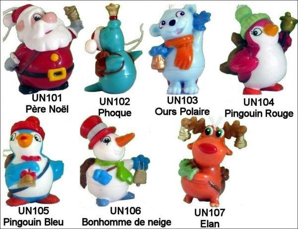 Noël 2010 - UN101 à UN107 - 2010-2011