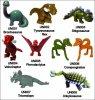 Dinosaures UN001 à UN008 - 2010-2011