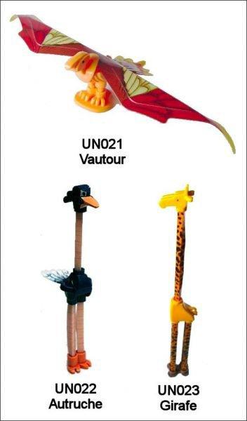 Animaux Gigantesque - UN021 à UN023 - 2010-2011